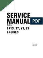 Ex13 Ex17 Ex21 Ex27 Service