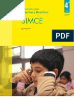 SIMCE 2009 analisis de reultados ESCUELA ESPAÑA