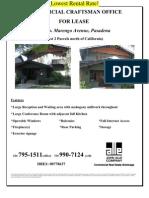 547 S. Marengo Avenue, Pasadena | for Lease