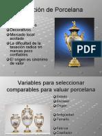 Tasación de Porcelana - Vidrio y Bienes de Colección