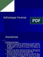 ASFIXIOLOGIA FORENSE