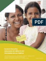 Avaliacao de Impacto Do Programa Bolsa Familia