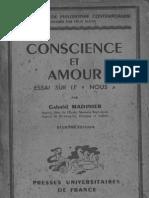 Gabriel Madinier - Conscience Et Amour