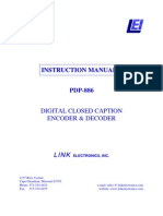 Product Manual - Link - PDP-886