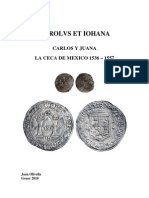 La Ceca de México 1536 – 1557