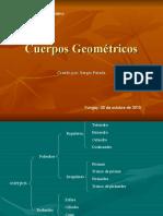 Cuerpos geométricos 8° B