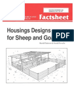Housings Designs for Sheep and Goats