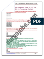 CTS_PlacementPapers
