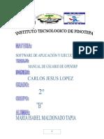 Manual de Programa open erp
