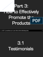 How to Effectively Promote the Products