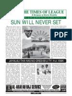 Times of League _ April_2011