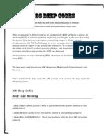 American Mega Trends Int. & Phoenix BIOS Beep Codes