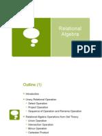 09 Relational Algebra