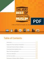 Productive Muslim eBook Bismillah