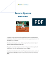 Free Tennis Quotes From Global Tennis Coaching