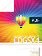 Tutorial Wallpaper CorelDRAW x4