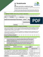Visitors Scratch Card Application v1.09