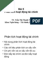 Bai 5 - Phan Tich Hoat Dong Tai Chinh