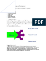Phases in Product Design and Development