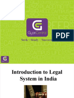 Introduction to Legal Sytem of India
