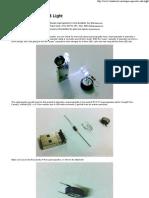 Super Capacitor USB Light _ Bust a TECH