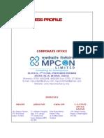 Business Profile MPCON Rural