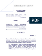 The Manila Hotel Corporation and Manila Hotel International Ltd. vs. NLRC, Et Al., G.R. No. 120077, October 13, 2000