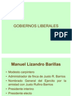 GOBIERNOS LIBERALES