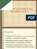 SAP1 Resume
