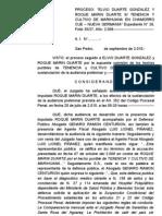 A.I. SUSPENSIÓN CONDICIONAL del PROCEDIMIENTO ROQUE MARIN