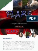 Flare Magazine Presentation