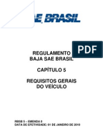 RBSB 5 - Requisitos Gerais Do Veiculo - Emenda 0