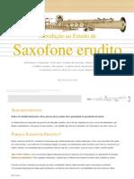 GUIA DE SAX - Introdução ao Estudo de Saxofone erudito
