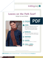 Leaves on the Path Scarf[1]