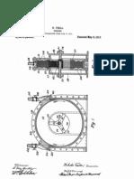 Tesla US Patent 1061206 -1913- Turbine