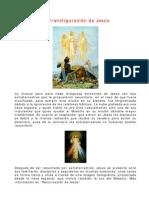 Transfiguracion de Jesus
