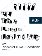 Secrets of the Legal Industry by Richard Cornforth