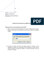 Correo electrónico con SMTP y POP3