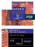 Dampers - Applications