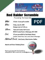 Raider Scramble Poster