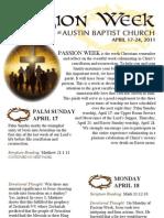 ABC Easter Devotional 2011
