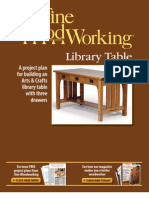 Free Plan Arts and Crafts Desk