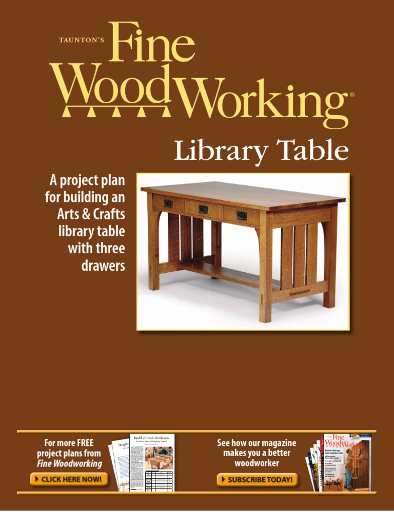 Free Plan Arts And Crafts Desk Wood Woodworking