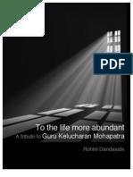 To the Life More Abundant
