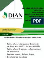 2 Devoluciones - Beneficio Auditoria - Declaraciones Rtef - Iva