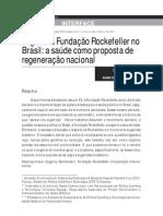 Eugenia e Fundação Rockefeller no Brasil