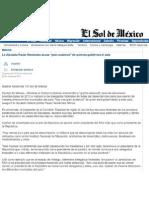 """20-05-11  La diputada Paula Hernandez anuncia """"gran ausencia"""" de quienes gobiernan el país"""