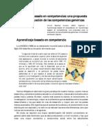 Aprendizaje Basado en Competencias Una Propuesta Para La Evaluacion de Las Competencias Genericas
