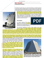 Ship Phase Array Radars