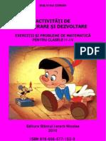 Activitati a Clasa II-IV Malvina Coman